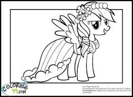 Small Picture Rainbow Dash Coloring Pages Coloring Pages