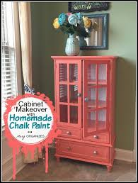 Coral Painted Rooms Chalk Painted Furniture By Color Coral Chalk Paint