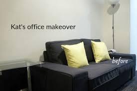 ikea slipcovers upgrade kat s office