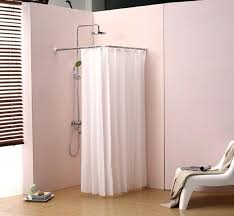 circular shower curtain rail awesome semi circle curtain rod good very attractive design round within circle