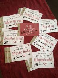 Diy Coupon Book Diy Love Coupons For Him From I Heart Valentines Day