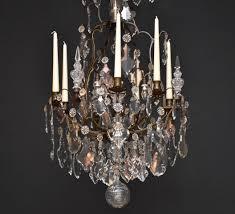 Französischer Kronleuchter Mit Kerzen Im Stil Von Louis Xv
