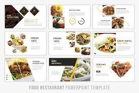 Food Presentation Template Food Presentation Powerpoint Screnshoot Training Obtaided