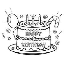 Free printable happy birthday coloring pages. Happy Birthday Coloring Pages Free Printables
