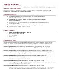 Beautiful Sample Lpn Resume Templates For Practical Nursing Student