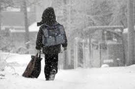 Из за морозов в понедельник отменили школьные занятия в Северном  Из за морозов в понедельник отменили школьные занятия в Северном Казахстане