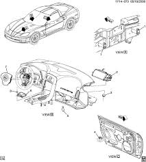 c6 corvette sdm module air bag deployment system 20991636 by gm c6 corvette sdm module air bag deployment system