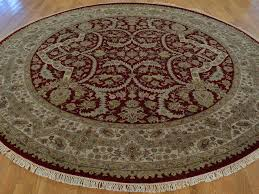 shining ideas 9 round rug delightful x tabriz hand knotted 300 kpsi oriental 100