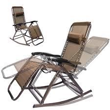 Zero Gravity Reclining Outdoor Lounge Chair Modern Chairs