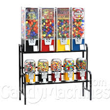 Vending Machine Combo Adorable Rhino 48 All Metal Unit Toy Candy Vending Machine Combo