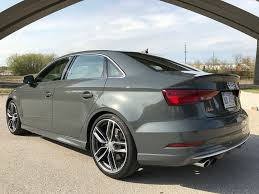 2018 audi s3 gray. an s3 identical to our 2017 test vehicle actually costs less, with msrp of $50,775. 2018 prestige model is also slightly less expensive, audi gray