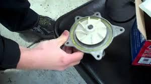 dodge or chrysler minivan 3 3 or 3 8 v6 water pump tutorial