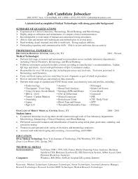 Resume For Lab Technician Fascinating Ideas Collection Microbiology Resume Samples Lab Tech Resume Lab