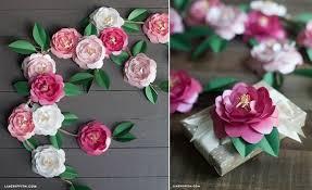 Diy Paper Flower Amazing Diy Paper Flowers