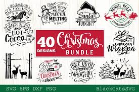 You can begin your membership today for just $1 for your first month. Christmas Bundle Svg 40 Designs Vol 3 Graphic By Blackcatsmedia Creative Fabrica Christmas Bundle Christmas Express Christmas Words