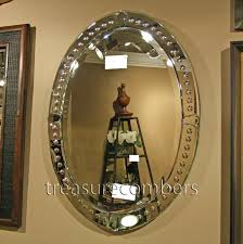 oval wall mirror for bathroom beveled glass mirrors beveled oval with dog oval beveled oval bathroom