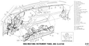 1966 mustang dash wiring diagram 1966 mustang instrument cluster wiring diagram 1966 1968 mustang wiring diagrams and vacuum schematics average joe