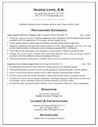 Nurse Resume Example Unique Cover Letter Entry Level Registered Nurse Resume Examples Entry