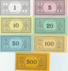 Printable Play Money Best Photos Of Monopoly Play Money Template Printable