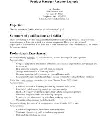 Sample Cover Letter For Product Manager With Production Manager