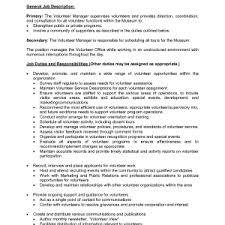 volunteer resume template free volunteer resume template lovely coordinator resume sample resume sample volunteer work sample volunteer resume