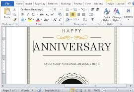 Free Printable Note Cards Template How To Create A Printable Anniversary Gift Certificate