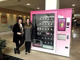 Magex Vending Machine Fascinating Cupcake Vending Machine At The Galleria A Tasty Treat For Shoppers