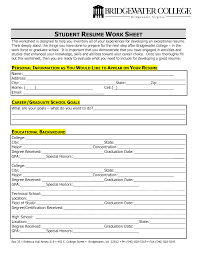 Resume Examples College Student Sample Resume For College Student Resume Samples 85