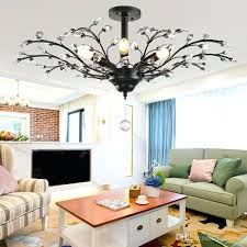 tree branch crystal chandelier tree branch pendant lamps crystal chandeliers country style crystal pendant lamp led