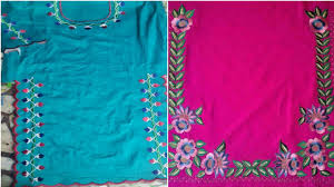 Cutwork Embroidery Designs Suits Best Boutique Cut Work Suits Design Very Stylish Panjabi
