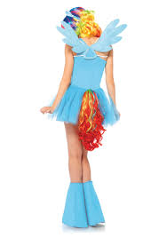Pony Costume Ideas My Little Pony Rainbow Dash Adult Costume Rainbow Dash Pony And