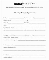 Wedding Photography Contract Form Wedding Photography Contract Template 10 Unexpected Ways