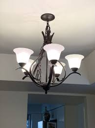 hampton bay 5 light oil rubbed bronze chandelier for in scottsdale az