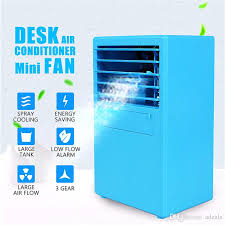 cooling air conditioner table fan mini desktop air cooler 3 sds usb air conditioner device humidifier for home office gadgets led from adeals