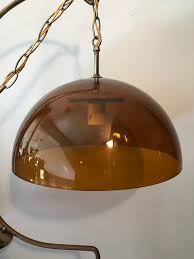 vintage retro ceiling light from the