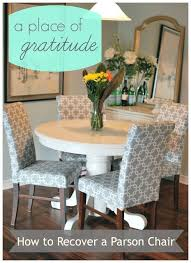 reupholstering parsons chairs dining room graude
