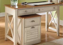 white wood office furniture. Home Office Classic Furniture Of Rustic White Wooden With Regard To Attractive Property Wood Desk Drawers Designs
