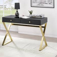 dayne black writing desk