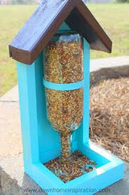 making bird feeders recycled materials