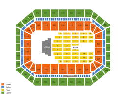 The Dome Seating Chart Carrier Dome Concert Seating Carrier