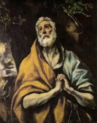 the repentant peter el greco