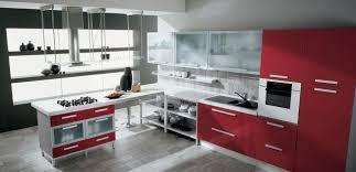 Italian Modern Kitchen Cabinets Mesmerizing Gattocucinesparedkitchenredkitchencurtainsstylishlylovely