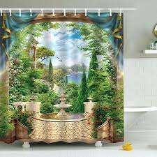 palm tree shower curtain hooks personalized decor gazebo theme curtains bathroom sets palm tree shower curtain