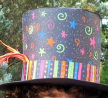 How To Make Hat With Chart Paper Paper Top Hats