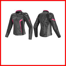 leather woman jacket dainese racing d1 nero antracite fucsia