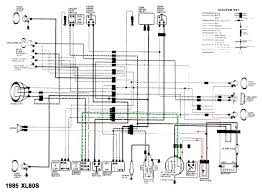 honda xl 125 wiring diagram honda wiring diagrams online