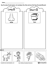 Use this set of 11 long o sound phonics worksheets in your ela lessons. Splendi Short O Worksheets Kindergarten Jaimie Bleck