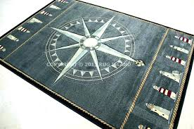 compass rug round nautical rugs rose colorful and cozy for home rugby school compass rug