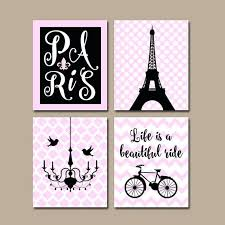 paris themed wall art wall decor them bedroom for images on on room decor paris themed