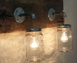 diy bottle light fixture